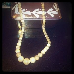 Antique mother of pearl pearls